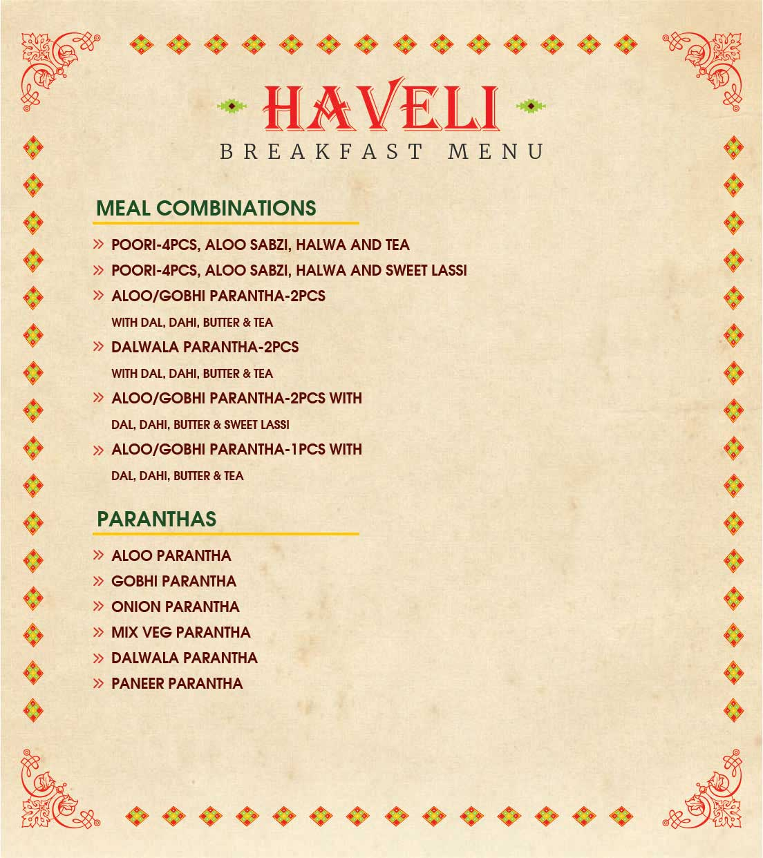 Haveli Jalandhar booking
